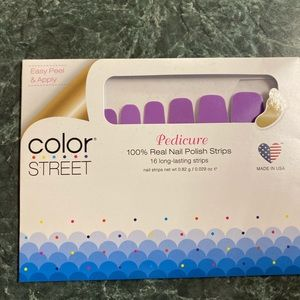 Color Street Accessories - Color street pedicure nail strips